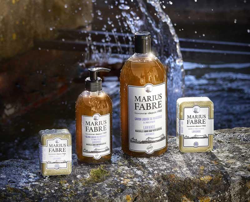 1804998fe92 Direction artistique et relooking d une gamme pour la savonnerie Marius  Fabre.