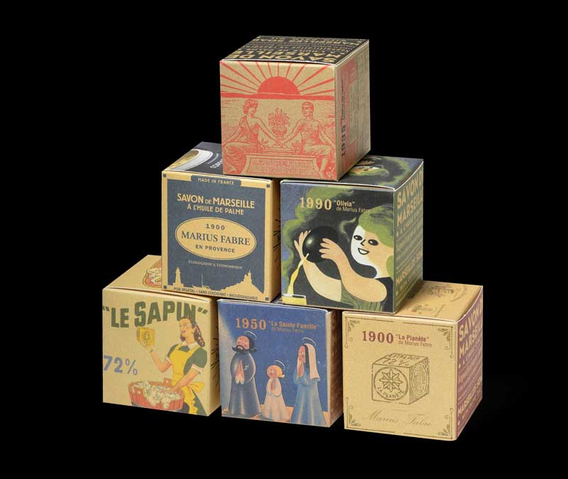 feffbe5528f Création d une série de cubes de savons de Marseille Collector.