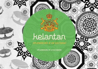 Création graphique et mise en page d'un catalogue d'exposition sur l'Art de vivre en Malaisie.
