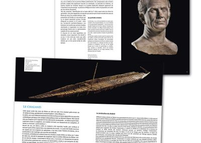 Musée départemental de l'Arles Antique Création graphique et mise en page d'un catalogue des collections (120 pages).
