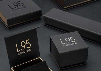 Recherche de nom, création de logo et déclinaison packaging