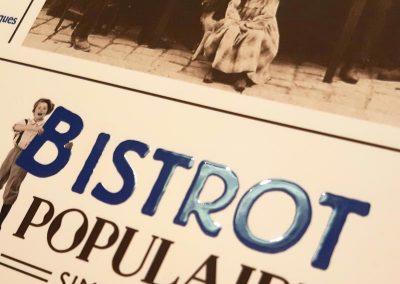 Bistrot Populaire | Mise en page menu et création d'un logo