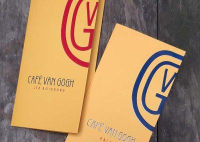 Café van Gogh, arles | Création d'une identité